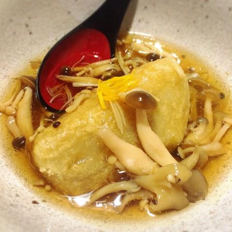 海老芋きのこあんかけの画像