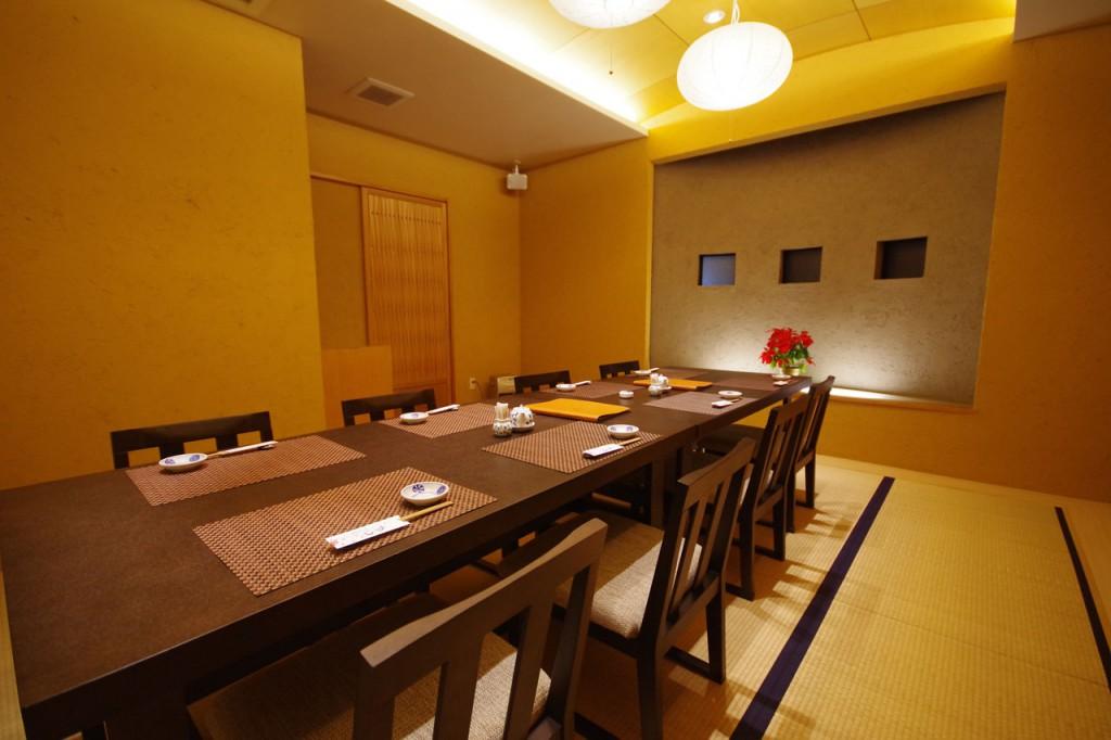 富士の間(完全個室の特別室)